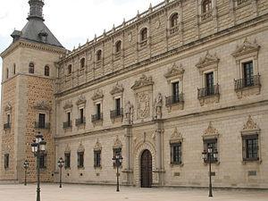 Alonso de Covarrubias - Alcázar of Toledo. Main façade.