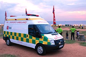 Falck (Denmark) - Falck Ambulance in Colombo Sri Lanka