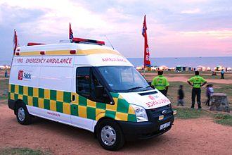 Falck (Denmark) - Falck Ambulance in Colombo Sri Lanka