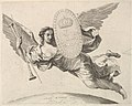 Fame Bearing a Shield with the Initial of Louis XIV (La Renommée volant) MET DP822432.jpg