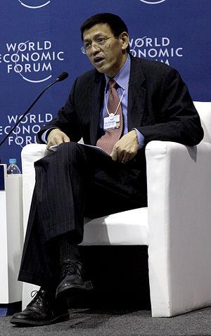Shenggen Fan - Image: Fan Shenggen World Economic Forum on Latin America 2012