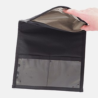 Faraday cage - Faraday bags are a type of Faraday cage made of flexible metallic fabric. They are typically used to block remote wiping or alteration of wireless devices recovered in criminal investigations, but may also be used by the general public to protect against data theft or to enhance digital privacy.