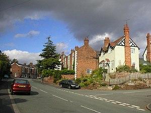 Farndon, Cheshire - Image: Farndon Village, Cheshire geograph.org.uk 239533
