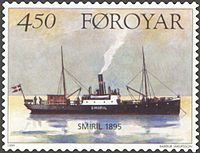 Faroe stamp 340 Smiril I.jpg