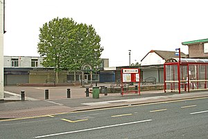 Featherstone - Image: Featherstone, Shopping Precinct Station Lane geograph.org.uk 256569