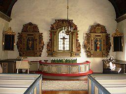 Interiør, Femsjö kirke