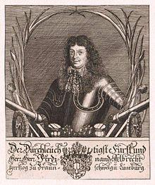 פרדיננד אלברכט הראשון, דוכס בראונשווייג-וולפנביטל