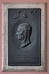 Ferdinand von Arlt (1812-1887), Nr. 80 basrelief (bronze) in the Arkadenhof of the University of Vienna-1402.jpg