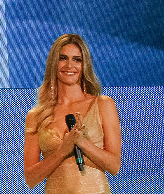 Fernanda Lima - Lima during the draw for the FIFA World Cup 2014.