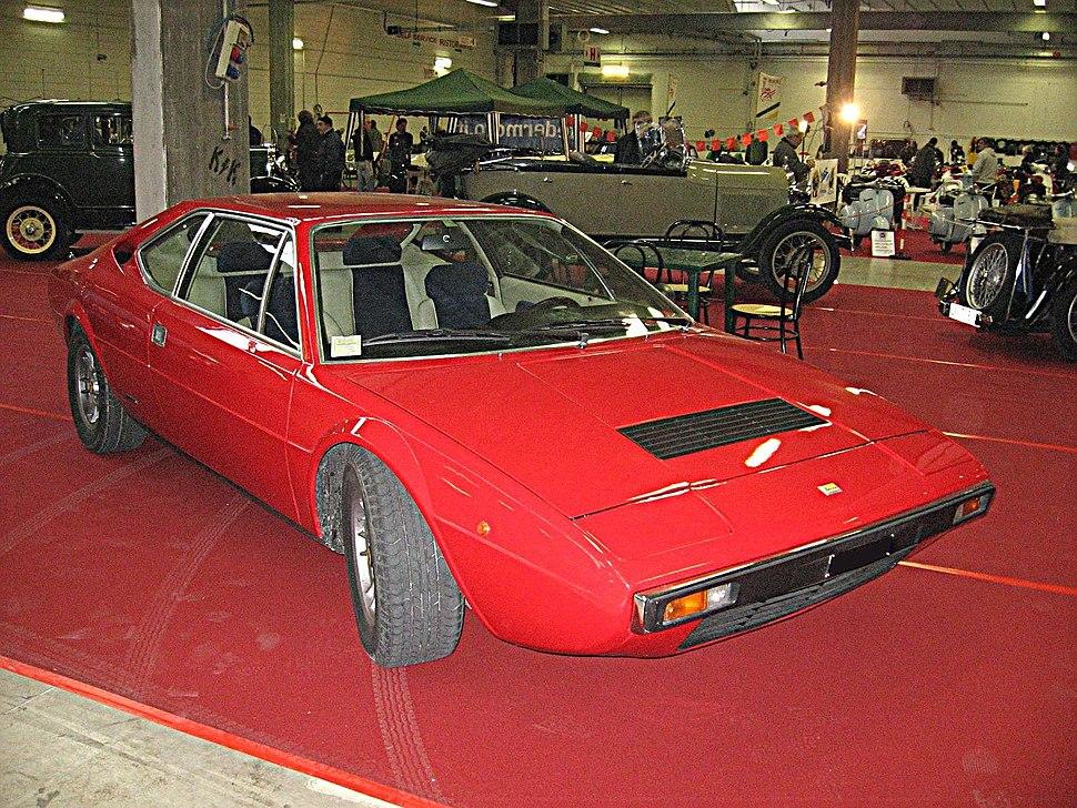 Ferrari-Dino 208-GT4 Front-view