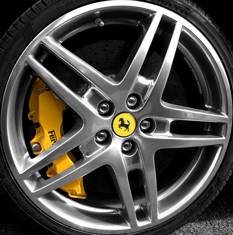 File Ferrari F430 Scuderia Wheel Jpg: File:Ferrari Wheel