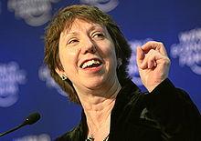 Catherine Ashton è il capo dell'EDA