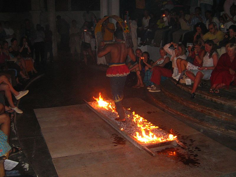 do: Fire walking