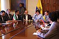 Firma de Memorandum de Entendimiento entre Ecuador e Irán para la construcción de hidroeléctricas (3348446877).jpg