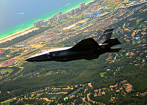 First F-35 Lightning Arrives at Eglin AFB Florida-2