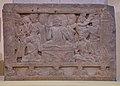 First Sermon - Circa 3rd-4th Century AD - Nagarjunakonda - Archaeological Museum - Nagarjunakonda - Andhra Pradesh - Indian Buddhist Art - Exhibition - Indian Museum - Kolkata 2012-12-21 2354.JPG