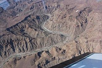 Fish River Canyon - Fish River Canyon Bird's Eye View