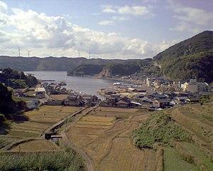 Genkai, Saga - A fishing village at Kariya Port in Genkai.