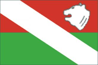 Ilyinsky District, Perm Krai - Image: Flag of Ilinsky rayon (Perm krai)