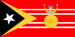 Municipalities of East Timor - Image: Flag of Manufahi
