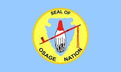 Bandiera della Nazione Osage di Oklahoma.png