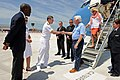 Flickr - Official U.S. Navy Imagery - U.S. Rep. Harold Rogers, chairman of the House Appropriations Committee, is greeted by commander of U.S. Naval Forces Europe-Africa and Allied Joint Forces Command Naples..jpg
