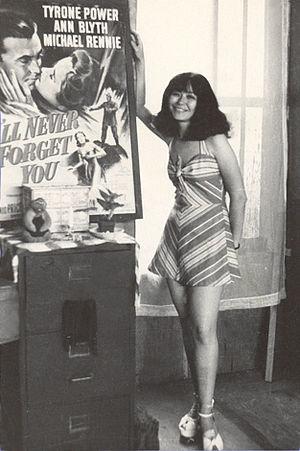 """Flo Steinberg - """"Fabulous Flo"""" Steinberg in 1975"""