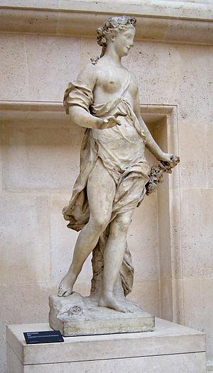 René Frémin - Flore by René Frémin, the Louvre, 1709