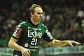 Florian Laudt 2 DKB Handball Bundesliga HSG Wetzlar vs HSV Hamburg 2014-02 08 030.jpg