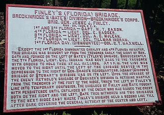 1st Florida Infantry - FL marker near Missionary Ridge/Lookout Mountain