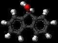 Fluorenol molecule ball.png