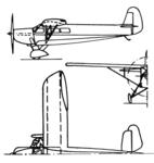 Focke Wulf A.43 3 view l'Aerophile magazine January 1933.png