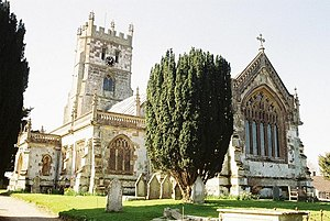 Fontmell Magna - Parish church of St Andrew
