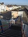 Footbridge, Starcross - geograph.org.uk - 773164.jpg