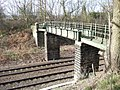 Footbridge over Railway - geograph.org.uk - 367267.jpg