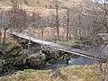 Footbridge over River Kinglass - geograph.org.uk - 1248944.jpg