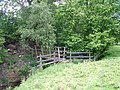 Footbridge over beck near Argill - geograph.org.uk - 858805.jpg