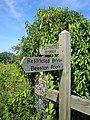 Footpath Sign Beeston Regis 3 August 2014.JPG