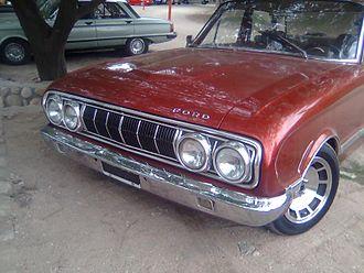 Ford Falcon (Argentina) - 1971 Ford Falcon