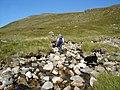 Fording a side stream of the Allt Beabaig - geograph.org.uk - 241748.jpg