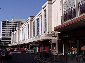 Blacklers - The Blacklers department store building