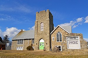 Parkside, Pennsylvania - Image: Former Transformation Christian Parkside PA