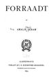 Forraadt - amalie skram 1892.png
