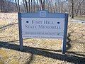 Fort Hill entrance sign..JPG