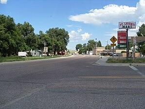 Hauptstraße von Fort Laramie