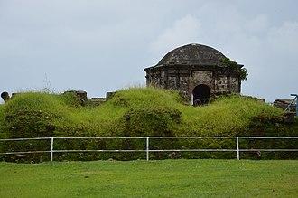 Chagres and Fort San Lorenzo - Image: Fort San Lorenzo 01