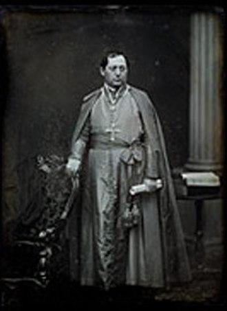 Gaetano Bedini - Daguerreotype of Cardinal Bedini to US in 1853 (National Portrait Gallery, Smithsonian Institution, USA).