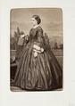 Fotografiporträtt på Lina von Chrismar - Hallwylska museet - 107783.tif