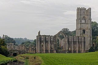 Fountains Abbey former monastery in England