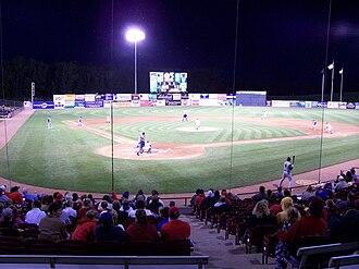 Neuroscience Group Field at Fox Cities Stadium - Image: Fox Cities Stadium 2